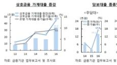 '풍선효과' 작년 상호금융 주담대 증가액 전년의 8배