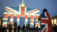 [포토뉴스]브란덴부르크문 덮은 '런던 테러' 추모