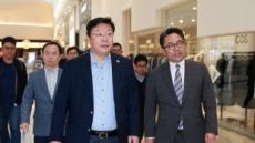 [헤럴드포토]주형환 산업부 장관 복합쇼핑몰 스타필드 하남 방문