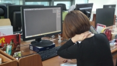 앉아서 일하는 사무직, 3대 '직장인증후군' 주의