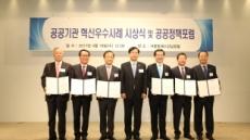 한국감정원 '공공기관 혁신우수사례' 최우수상 쾌거