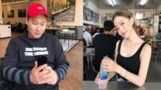 현실판 '미녀와 야수'…스윙스, 모델 임보라와 열애 중
