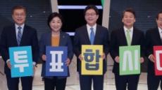 [5차 TV토론] 文-安 '존재감 실종'ㆍ洪 '내실 부족'ㆍ劉-沈 '탁월'