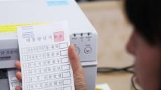 28.5㎝ 대선 투표용지 인쇄 시작, 이후 사퇴자는 투표소 게시