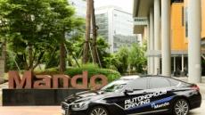 만도 국내 최초 자체 레이더 센서 기술로 자율주행차 운행