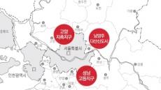 '엎어지면 서울' 성남ㆍ다산ㆍ고양 아파트 관심 쑥