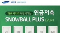 삼성증권, 연금저축 TDF 가입 이벤트… 6월 말까지