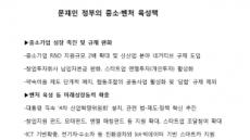[새정부조직개편] 새정부 아이콘으로 뜨는 중소벤처부…가용 수단 총동원 지원