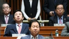 """김성태 """"문대통령 정말 잘한다…주변에 엄청난 국정운영 기술자들 포진"""""""