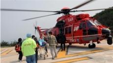 119구급헬기, 섬 지역 응급환자 3년간 881명 실어 날라
