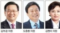 [4개부처 장관후보자 인사] 현역의원 4명 내각 전진배치