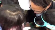 박주민, 어린이들에게 文 대통령과 친분 '과시'
