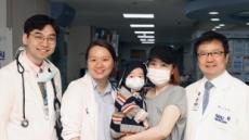 서울대병원 폐이식팀, 국내 최초 영유아 폐이식 성공