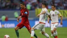포르투갈 멕시코, 2-2 무승부…호날두 1도움