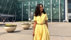 이혜영, 뭘 입어도 예쁜 그녀… 뉴욕서 개인 전시회