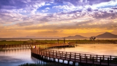 낙동강과 바다로 떨어지는 장엄한 다대포 일몰…西부산 사진공모전
