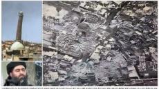기울어진 첨탑 사라졌다…IS, 모술 알누리 大모스크 파괴