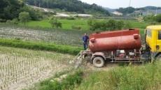 정부, 가뭄 극복 예산 추경에 반영…김용진 기재차관 가뭄현장 방문