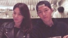 """""""마스크로 다 가렸지만, 정체 알았다""""…송중기·송혜교 열애설 재점화"""