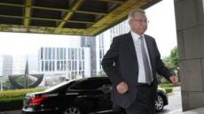 공직자 윤리위 열리는 날 출근하는 양승태 대법원장