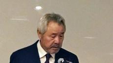 """미스터피자 정우현 회장 """"상처받은 모든분께 사과…오늘부로 회장직 사퇴"""""""