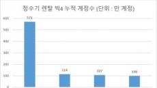 갈증나는 더위에 '정수기 대전' 이어진다…정수기 빅4 경쟁 '치열'