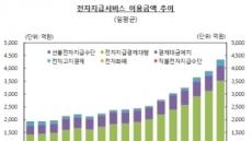 전자지급서비스 일평균 4326억원 이용 '사상 최대'