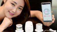 'IoT 센서' 5종 첫 선…LG전자, 스마트홈 생태계 키운다