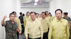 文 대통령, UFG 이틀째 전시 지휘소 격려 방문