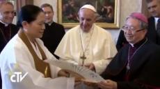 """프란치스코 교황 """"형제간 화해의 선물 주어지길 늘 기도"""""""