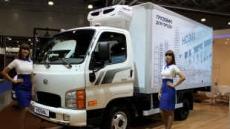 현대차 수출 전략형 트럭 'HD36L' 세계 최초 공개