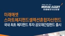 미래에셋자산운용 '미래에셋스마트헤지펀드셀렉션혼합자산펀드' 출시