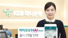 KEB하나은행 '하이로보' 출시 두달만에 2만명 가입