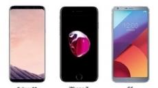 """'갤럭시S8·아이폰7' 구매 시 태블릿 PC 지급 … """"'G6' 사은품은 PS4"""""""