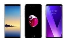 갤럭시노트8·아이폰7·V30 구매 시, '태블릿 PC' 사은품 지급