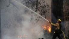 캘리포니아 산불 아직도…돌풍 예보에 또 주민대피령