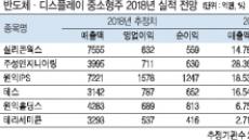 반도체·디스플레이 중소형주 '내년 맑음'