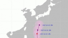 태풍 란, 오키나와 향해 북상…중형으로 커져, 한반도 영향권?