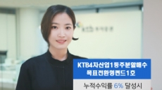 KTB자산운용 4차산업혁명 관련 목표전환형 펀드 출시