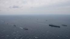 韓美 대규모 연합해상훈련의 위용