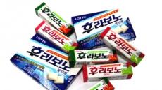 롯데제과 후라보노껌의 시장경기 역주행…매출 '쑥쑥'
