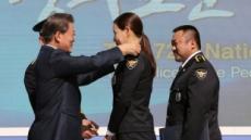 문대통령, 배우 이하늬-마동석 명예경찰 위촉