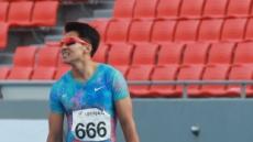 김국영 남자 100m서 비공인 한국新...'10초 03' 기록