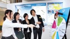 평창 G-100…도쿄 하네다공항에 '올림픽 홍보관'