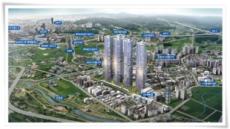 살기좋은 도시로 변모중인 평택, 59층 위너스시티 눈길