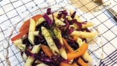채소 듬뿍 넣은 건강한 간단식단백질까지 곁들이면 금상첨화