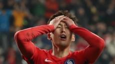 [한국 세르비아] 1-1 종료…아깝다! 손흥민 회심의 발리슛
