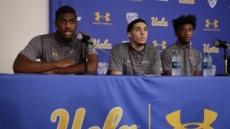 """中서 풀려난 UCLA 농구선수들 """"트럼프에 감사"""""""