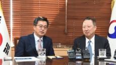 """김동연 """"기업은 혁신성장의 주역…제언, 정책에 최대한 반영"""""""