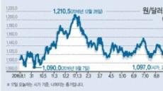 한국경제 호평에 원화 '초강세'…수출기업 큰 부담